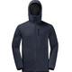 Jack Wolfskin Modesto Hooded Jacket Men night blue